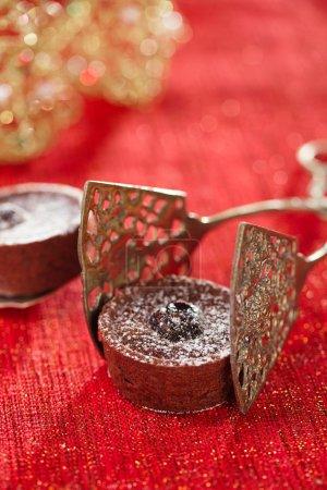 Chocolate Cherry Mini Tartlets
