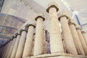 columns ancient Greek temple of Artemis