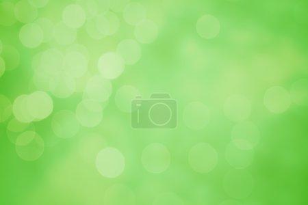 Foto de Fondo bokeh elegante primavera y verano. Elemento de diseño abstracto decorativo de luz estacional - Imagen libre de derechos