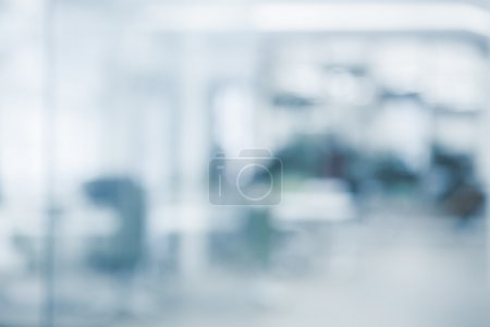 Photo for Office background - blurred and defocused - ideal for presentation background - Royalty Free Image