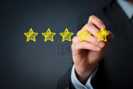 Increase rating, evaluation and classification concept