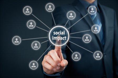 Company improve its social impact