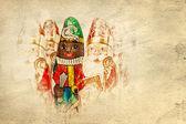 Sinterklaas Zwarte Piet . Dutch chocolate figure