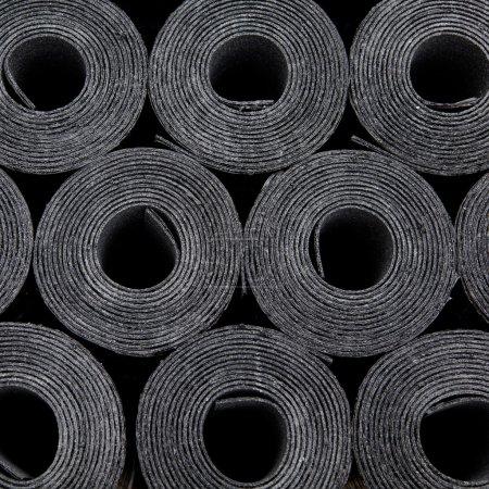 rolls of roof coating