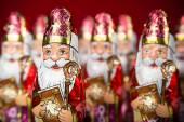 Sinterklaas . Dutch chocolate figurine