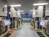 Interno del laboratorio di biologia medica