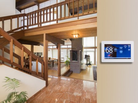 Programmable thermostat for temperature control in...