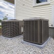 HVAC heating and air conditioning residential unit...