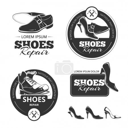 shoes repair background