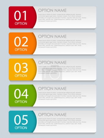 Illustration for Infographic Templates for Business Vector Illustration. EPS10 - Royalty Free Image