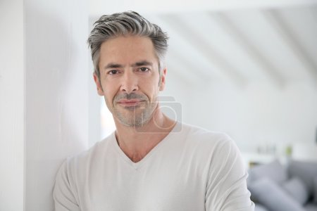 Attractive 50-year-old man