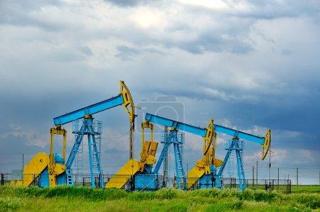 Oil pumps. Oil industry equipment....