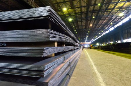 Stack of steel sheet