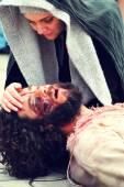 Pracovní cesty Ježíše na hoře Calavary