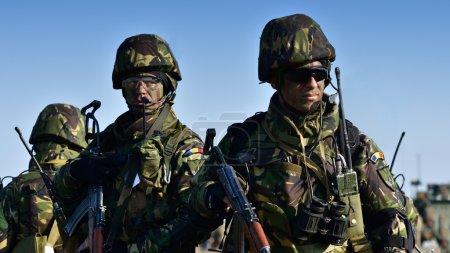 Romanian military