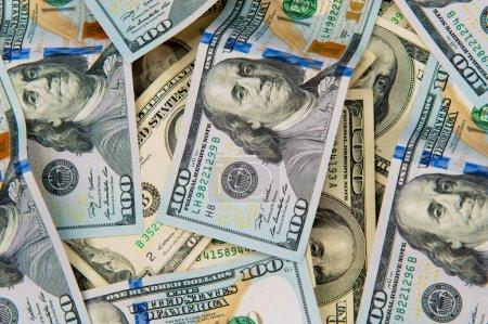 Photo pour Dollar américain cent devises  . - image libre de droit