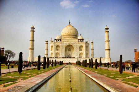 Photo pour Taj Mahal, Inde  . - image libre de droit
