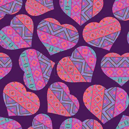 valentine's day pattern background