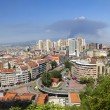 View from Bursa, the 4th largest city of Turkey...