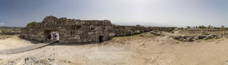 Ruins of Hierapolis the ancient