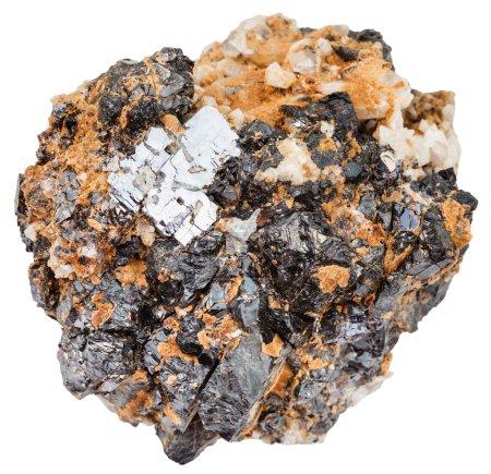 Macro shooting of natural mineral stone - crystals...