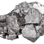 Macro shooting of natural rock - big crystals of m...