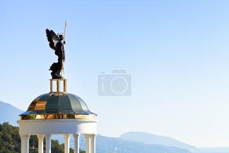 St Michael the Archangel statue
