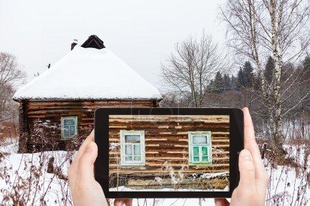 fotografías turísticas de muro de casa rústica