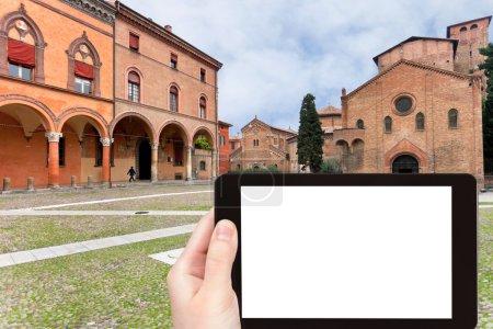 tourist photographs of Seven Churches, Bologna