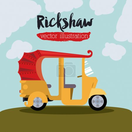 rickshaw trasnportation design