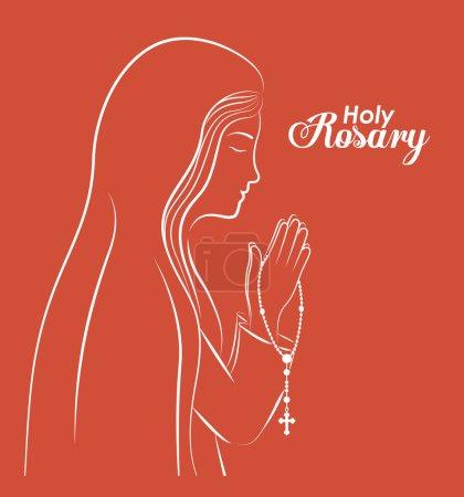 christianity design, vector illustration.