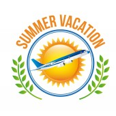 Letní prázdniny designu