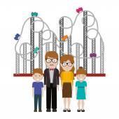 šťastné rodiny design