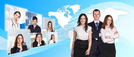 Diverse businesspersons