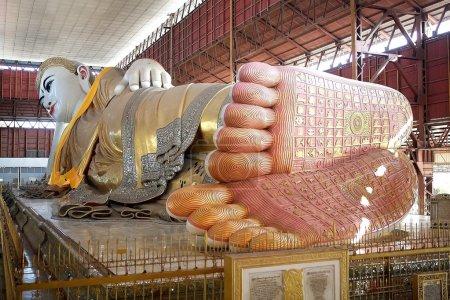 Chaukhtatgyi Bubbha Temple, Yangon, Myanmar