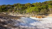 Pedernales Falls State Park and River in Texas Hill Country
