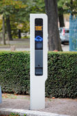Charging point for electric vehicle