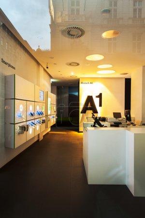 A1 Telekom Austria store front