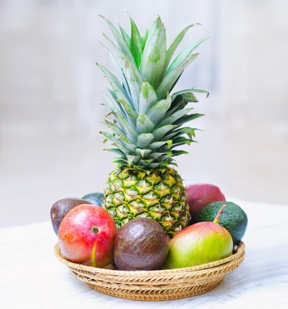 Tropical fruit assortment