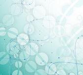 DNA abstraktní ikonu a prvek kolekce. Futuristické technologie