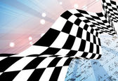 Racing square background vector illustration abstraction in rac