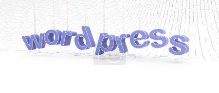Logo WordPress für Webmaster und Webseiten
