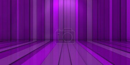 3D purple background