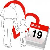 March 19 the Father's Day