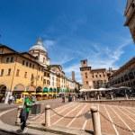 MANTUA, ITALY - MAY 9, 2021: Piazza delle Erbe in ...
