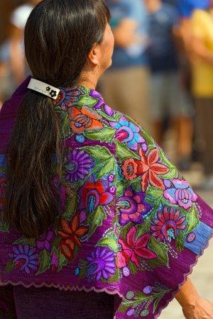Mexican Dress - Zinacantan Chiapas Mexico