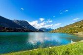 Jezero v Cavedine - Trentino Itálie