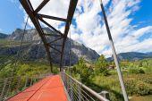 Most přes řeky Sarca - Trentino Itálie
