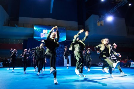 'MegaDance' children's competitions in choreography , 28 November 2015 in Minsk, Belarus.