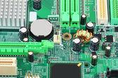 Základní deska počítače zelený